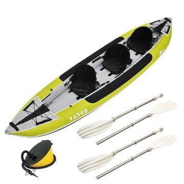 Zpro Tango 3 man Inflatable Kayak Package