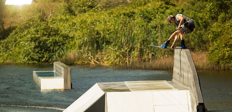 Cable Wakeboarding with Ronix