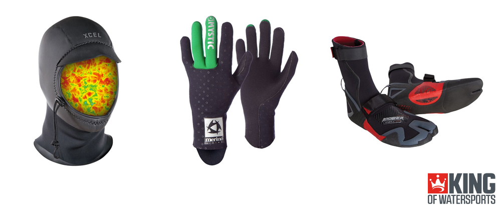 Wetsuit Boots, Gloves, & Hoods Guide